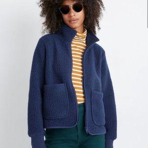 Madewell Polartec Fleece Zip Up Jacket XS
